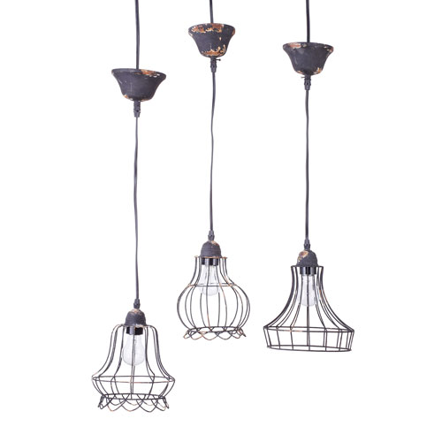 3R Studio Wire Bell Hanging Pendant Lamp
