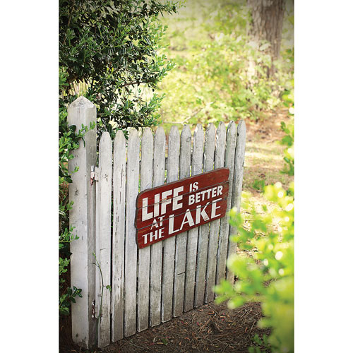 Life Is Better …Red Wall Décor