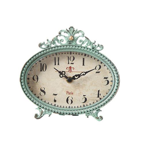 Aqua Mantle Clock