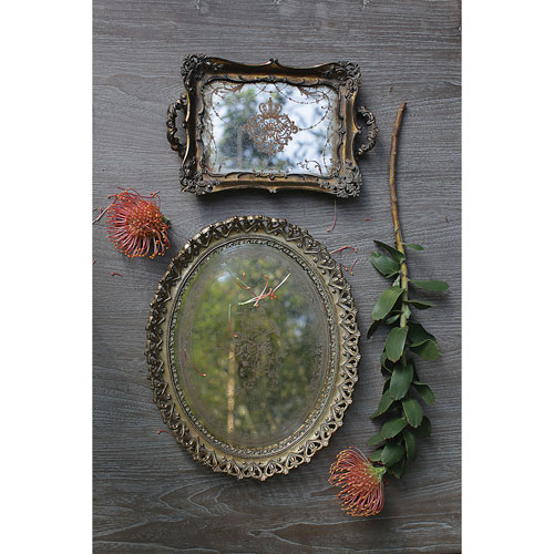 Antique Gold and Mirror