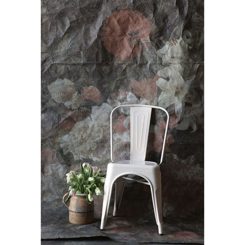 3R Studio Cream Metal Dining Chair