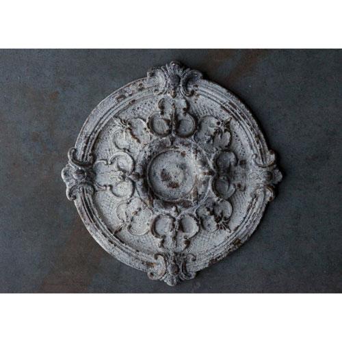 Round Magnesia Wall Medallion