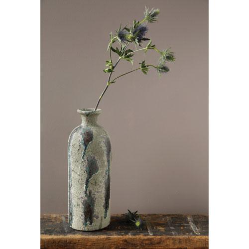 3r Studio Aged Green Terracotta Vase Da3674 Bellacor