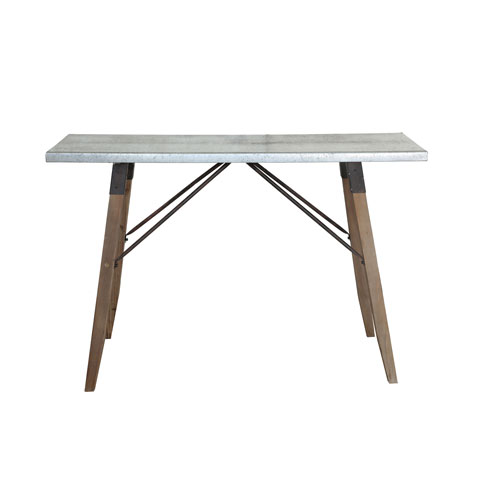 3R Studio Metal and Wood Table
