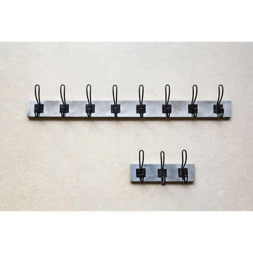 3R Studio Metal Wall Hanger with Eight Hooks