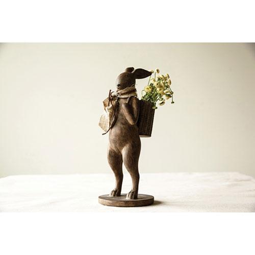 3R Studio Brown Rabbit Figurine