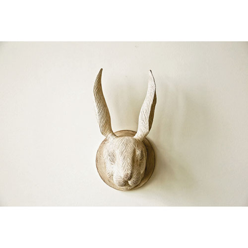 3R Studio Rabbit Head Wall Décor