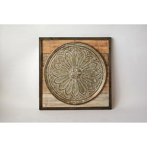 Wood and Tin Wall Decor