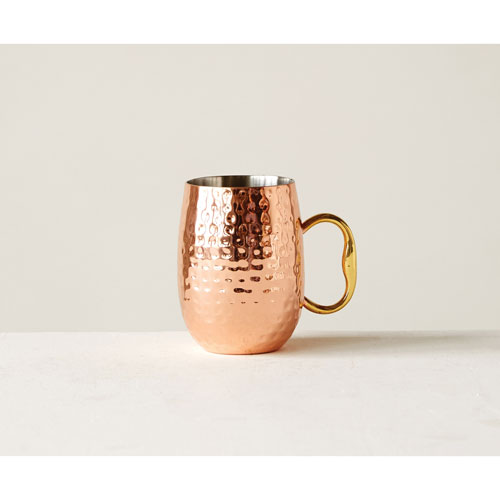 3R Studio Copper Stainless Steel Moscow Mule Mug
