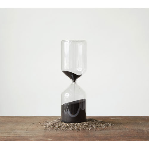 3r Studio Decorative Hourglass With Black Sand Da7494 Bellacor - Decorative-hourglass