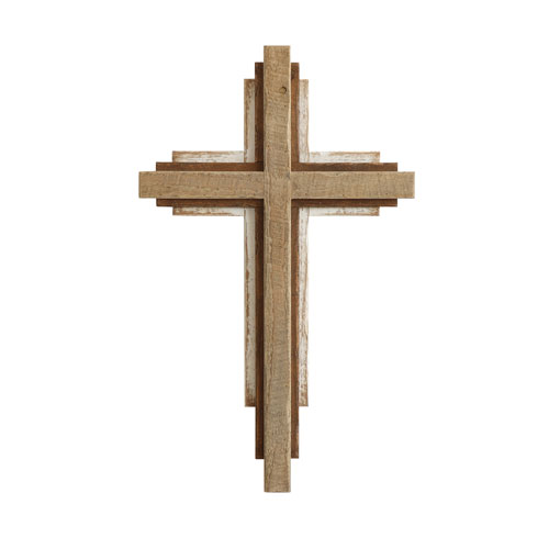 3R Studio Wood Wall Cross