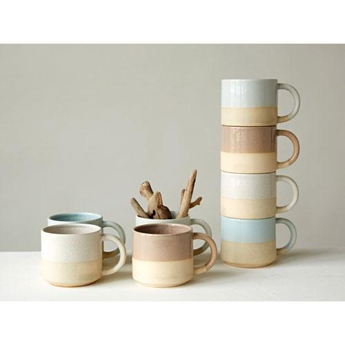 3R Studio Matte Glazed Mug, Set of Four