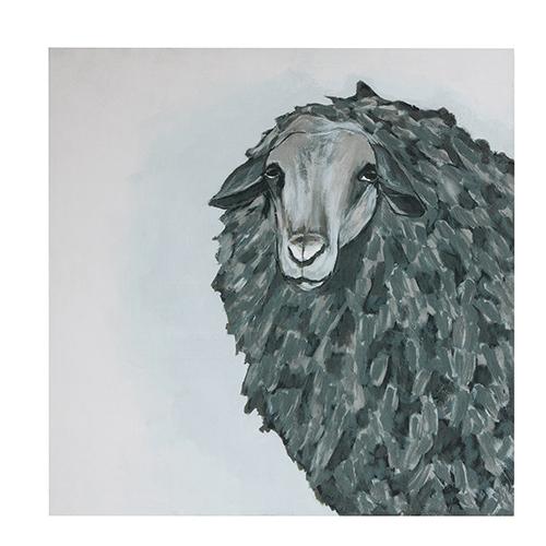 3R Studio Sheep Square Wall Art