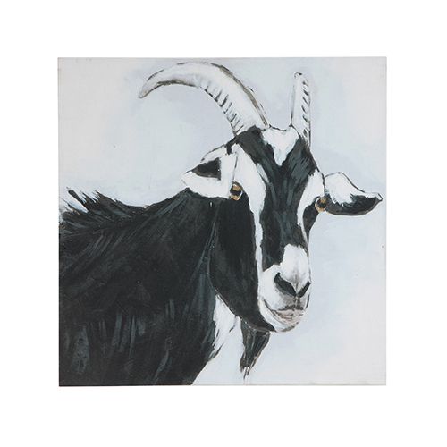 Goat 24 In. Square Wall Art