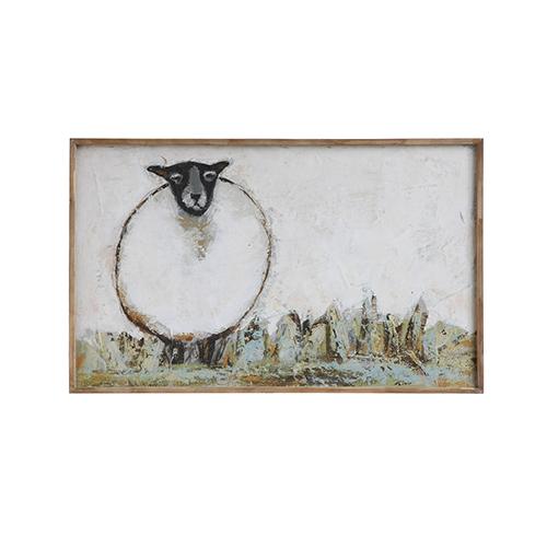 Sheep Canvas Wall Décor