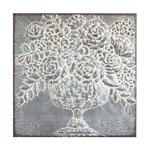 Metal Floral Bouquet Wall Décor