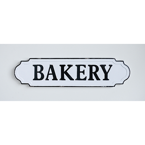 Bakery Metal Wall Décor