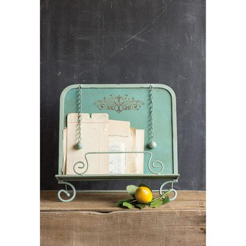 Aqua Metal Book holder