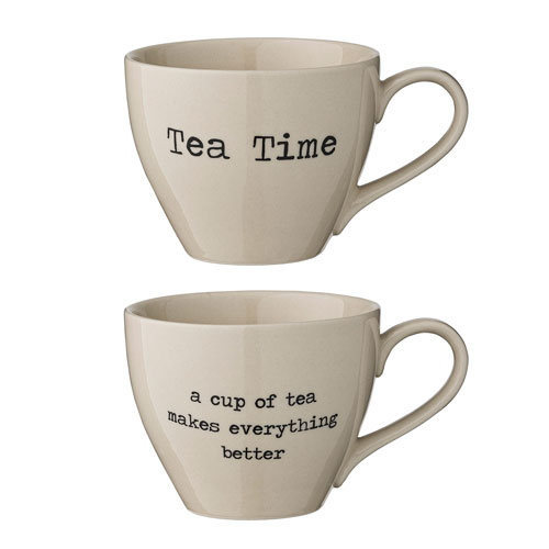 Josephine Ceramic Mug, Set of 2