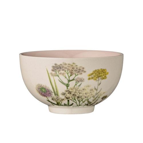 Bloomingville Botanic Ceramic Bowl with Nude Inside