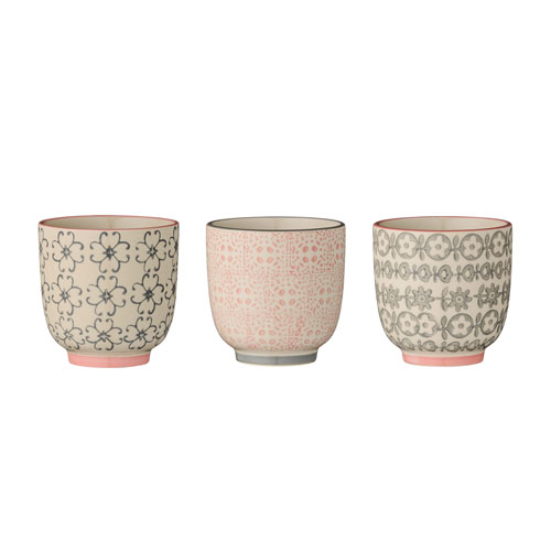 Bloomingville Cécile Ceramic Cup, 3 Styles