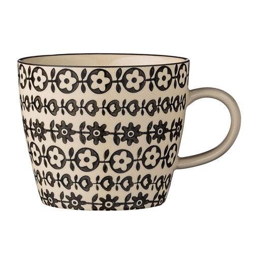 Julie Ceramic Mug with Flowers