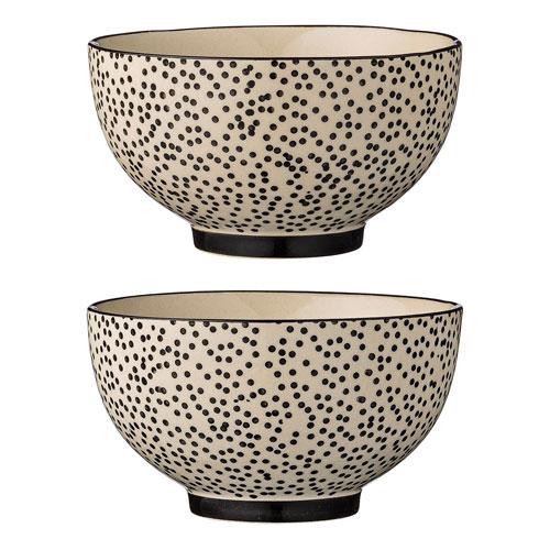 Julie Ceramic Bowl, Set of 4