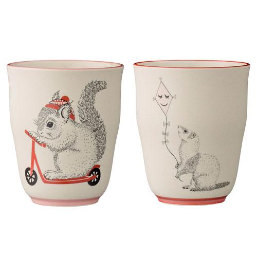 Mollie Ceramic Cup, Set of 4