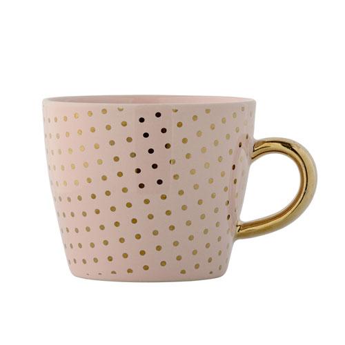 Henrietta Nude with Gold Dots Ceramic Mug