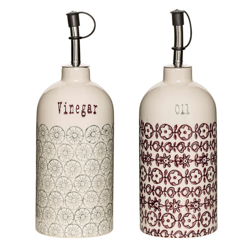 Karine Oil and Vinegar, Set of 2