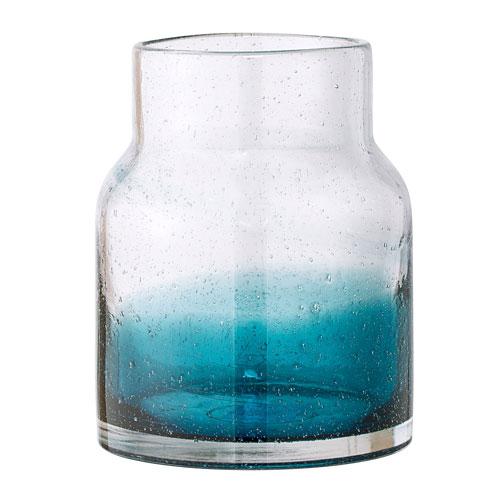 Bloomingville Blue Glass Vase A23607772 Bellacor