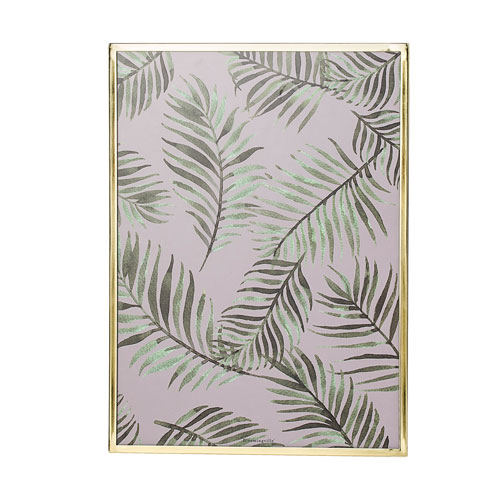 Botanical Print Framed Glass