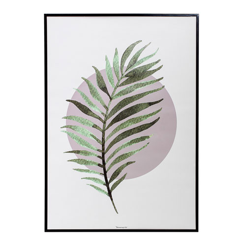 Bloomingville Fern Framed Wall Décor