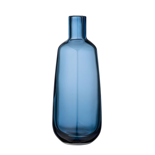 Bloomingville Navy Glass Vase