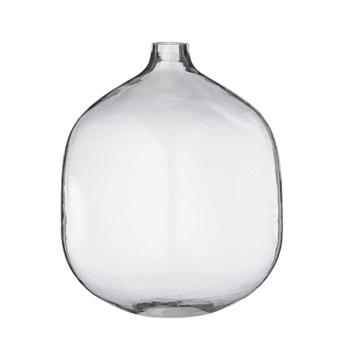 Transparent Glass Vase