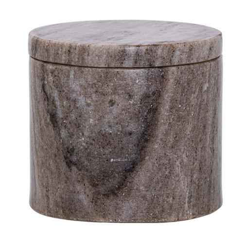 Bloomingville Beige Marble Jar with Lid