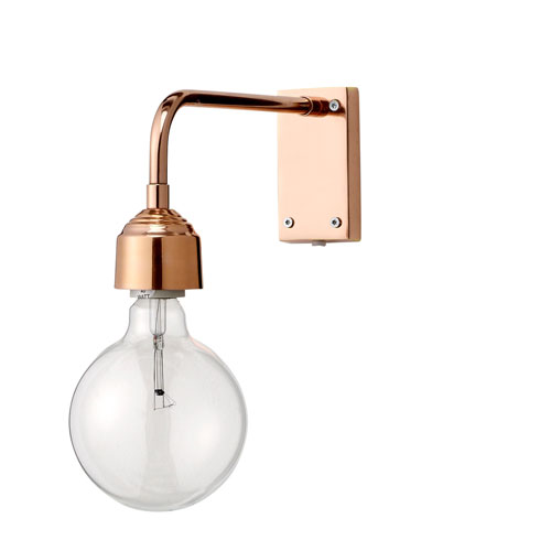 Bloomingville Copper Wall Lamp