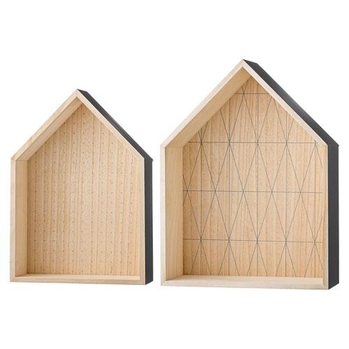 Bloomingville Natural and Gary Wood Display Houses