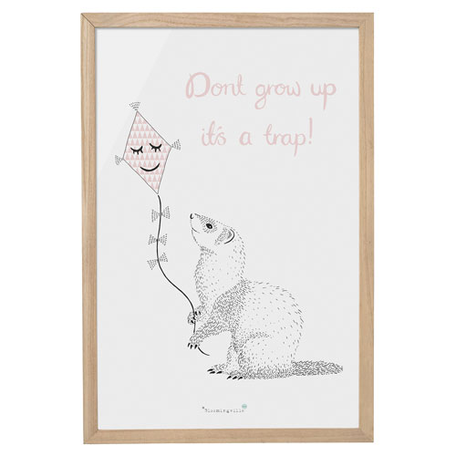 Dont Grow Up. Its A Trap Wall Décor