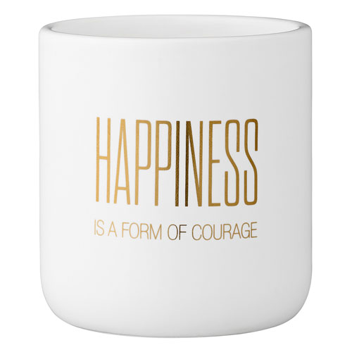 Bloomingville Happiness Is.. Ceramic Flower Pot