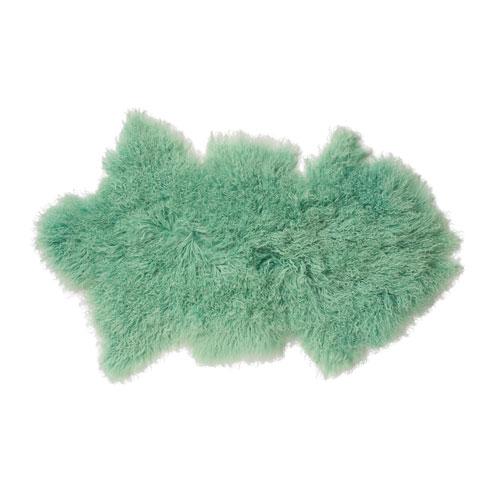 Mint Mongolian Lamb Fur