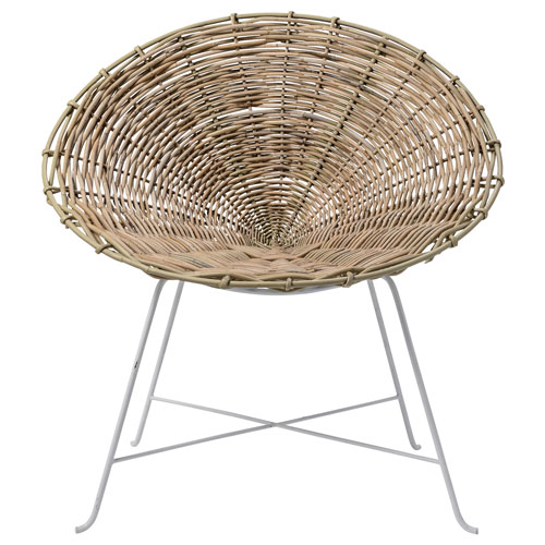 Bloomingville Natural Rattan Lounge Chair
