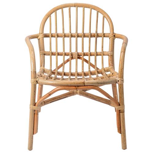 Bloomingville Natural Rattan Arm Chair
