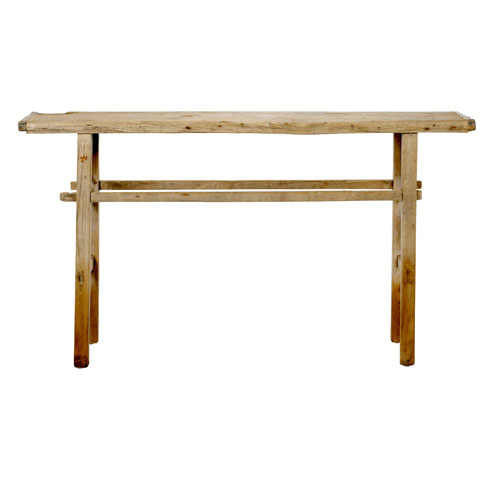 Bloomingville Elm Wood Console Table