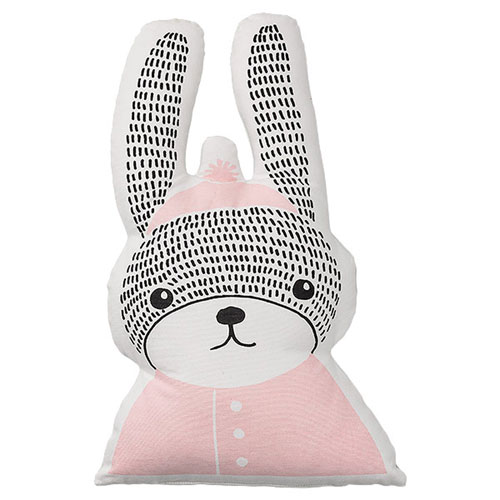 Cotton Rabbit 13 In. Pillow