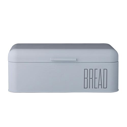 Blue Metal Bread Bin