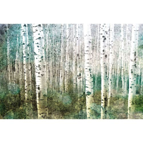 Aspen Green 30 x 20 In. Painting Print on Wrapped Canvas
