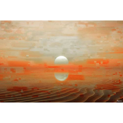 Smara 36 x 24 In. Painting Print on Wrapped Canvas