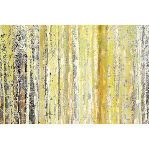 Parvez Taj Aspen Forest 2 18 x 12 In. Painting Print on Wrapped Canvas