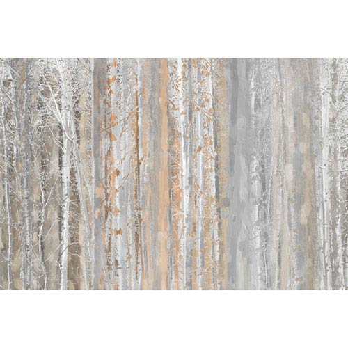 Parvez Taj Aspen Forest 1 30 x 20 In. Painting Print on Wrapped Canvas